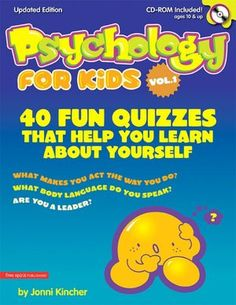 Psychology for Kids: 40 Fun Tests That Help Your Learn About Yourself. Used this with a 7th grader who was interested in Psychology. She enjoyed the activities.