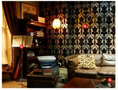 Sherlock's Apartment 221B