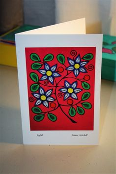 Quality Art Card - Joyful  JM003