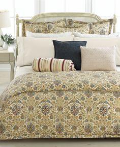 Lauren Ralph Lauren Marrakesh Tan Collection - Duvet Covers - Bed & Bath - Macy's