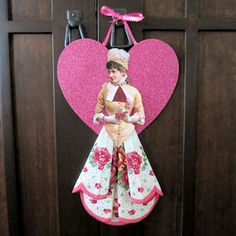 I made a dozen of these for a swap and they were so fun and simple to make. I will be making more! Vintage Hanky Doll--tutorial with free pdf for the doll image--2 styles.