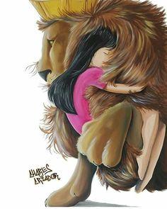 Jesus Pictures, Art Pictures, Photos, Illustration Art Dessin, Jesus Father, Lion Love, Le Roi Lion, Prophetic Art, Jesus Art