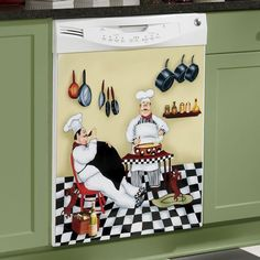 Dishwasher Cover, Kitchen Chef from Seventh Avenue ®