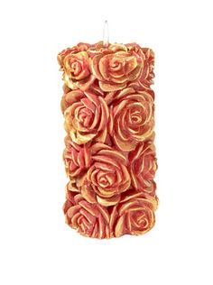 "Volcanica Flora Medium Pillar Candle Red/Gold-3"" x 6"" Volcanica Candles http://www.amazon.com/dp/B00FB37EKU/ref=cm_sw_r_pi_dp_2TaHvb0ZMV7Y5"