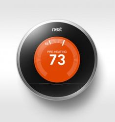The Nest thermostat learns your behavioral patterns and creates a temperature-setting schedule based on them. The Nest thermostat learns your behavioral patterns and creates a temperature-setting schedule based on them.