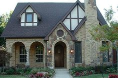 1940 39 s style cottage in highland park texas cottages for Victorian tudor suite