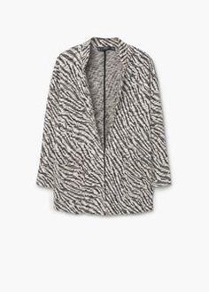 Baumwolljacke mit Tasche