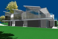 Lung House - Ian Moore Exterior View #architecture #architecturaldesign #modern #contemporary