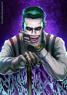 Joker by KoweRallen - Visit to grab an amazing super hero shirt now on sale!