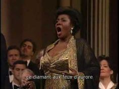 """One of my fave ensembles happens to also be from Les Contes d'Hoffmann ... different """"lady"""" though. Here, Giulietta is sung by Florence Quivar, Hoffmann is Alfredo Kraus. 