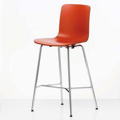 HAL Stool Medium Orange now featured on Fab. Bar Stools Uk, Tall Bar Stools, Chair Design, Furniture Design, Orange Furniture, Orange Design, Design System, Interior Design, Medium