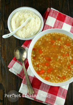 Perfect Italian Soup
