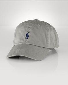 4d176801f44 Cotton Chino Baseball Cap