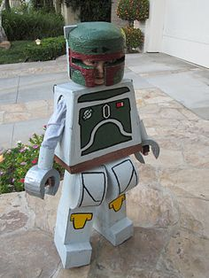 Art and It's Accoutrements: Lego Boba Fett Costume