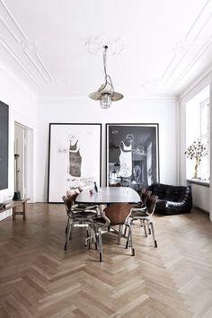 Interiors | Classic Modern Apartment | Dust Jacket |