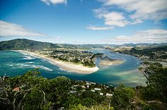 The Coromandel, with a rich gold-mining history and stunning beaches, is a summer holiday mecca. Whitianga and Whangamata are two favourite towns to visit. New Zealand Adventure, South Island, Kayaking, Surfing, Places To Visit, Explore, Beach, Travel, Outdoor