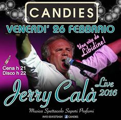 Per tutti i grandi nostalgici degli anni 80 alMon Amourarriva un icona italiana, il mitico Jerry Calà.