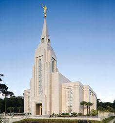 Curitiba Brazil Temple of The Church of Jesus Christ of Latter-day Saints. #Mormon #LDS