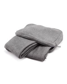 Travel Blanket Set, Gray by Neiman Marcus at Last Call by Neiman Marcus.