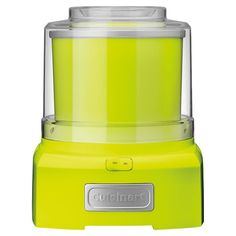 Serve+a+homemade+dessert+at+your+next+soiree+with+this+essential+ice+cream+maker,+featuring+a+key+lime+finish+and+1.5+quart+capacity.+  +