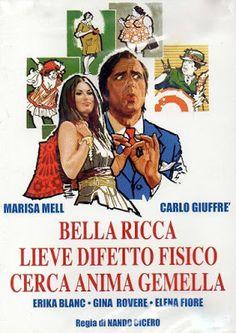 Cinema Italiano Database: BELLA, RICCA, LIEVE DIFETTO FISICO CERCA ANIMA GEM...