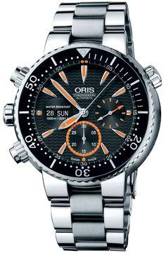 Oris Chronograph Automatic #luxurywatch #Oris-swiss Oris Swiss Watchmakers  Pilots Divers Racing watches #horlogerie @calibrelondon