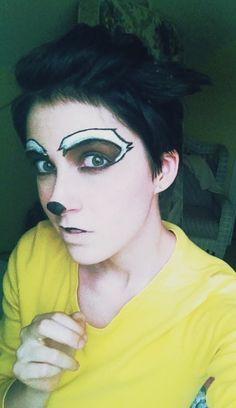 raccoon makeup - Google Search Raccoon Makeup, Animal Makeup, Halloween Decorations, Halloween Costumes, Halloween Ideas, Peter Pan Musical, Sfx Makeup, Best Day Ever, Narnia