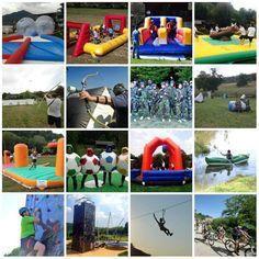 Just 4 fun! Recreational team building activities!