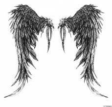 Картинки по запросу эскизы крылья дьявола
