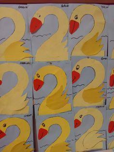 Preschool Math Games, Kindergarten Crafts, Preschool Activities, Toddler Crafts, Toddler Activities, Crafts For Kids, Arts And Crafts, Number Crafts, Letter A Crafts