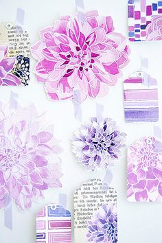 lovely watercolor flowers: lovely watercolor flowers