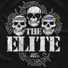 T-shirts and more apparel created and sold by The Elite Bullet Club T Shirt, Bullet Club Logo, Wrestling Posters, Wrestling Memes, Japan Pro Wrestling, Kenny Omega, Wwe Wallpapers, Aj Styles, Professional Wrestling