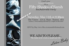 Fifty Shades of Grey Bachelorette Party by ArtistryByJacquie, $8.00