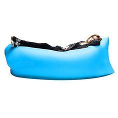 Air+Sleep+Sofa+Inflatable+Portable+Outdoor+Couch+Sleeping+Hangout+Lounger+External+Internal+PVC+Camping+Beach+–+GBP+£+12.19