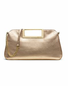 MICHAEL Michael Kors  Large Berkley Clutch. This would be perfect to carry around for the wedding.