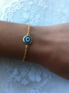 Evil eye. Exactly what I want