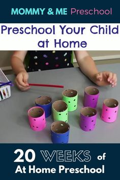 Homeschool Preschool Curriculum - Done for you Homeschool Preschool Lesson Plans for the entire school year. Homeschool Preschool Curriculum, Preschool Prep, Preschool At Home, Preschool Crafts, Preschool Classroom Layout, Kids Educational Crafts, Pre K Curriculum, Toddler Preschool, Homeschooling