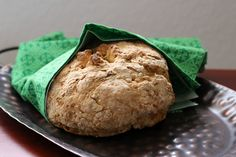 This Gluten Free Irish Soda Bread is also egg and dairy free. A great way for those with food allergies to still enjoy this festive holiday bread. Gluten Free Irish Soda Bread Recipe, Gluten Free Baking, Vegan Gluten Free, Vegan Vegetarian, Vegetarian Recipes, Healthy Recipes, Allergy Free Recipes, Gf Recipes, Irish Recipes