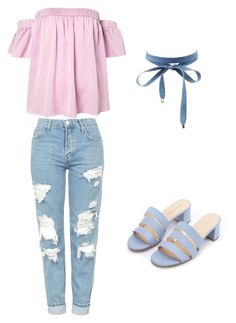 """""""Denink"""" by romerokrisjoan on Polyvore featuring Topshop, Milly and Charlotte Russe"""
