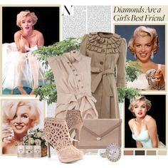 """Diamonds are a Girl's Best Friend"" by mama-candy on Polyvore"