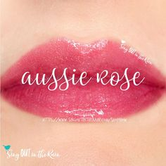 Aussie Rose is a shimmering, medium rose pink with blue undertones.  LipSense is the premier product of SeneGence, International #aussierose #lipsense #senegence #lipstick #shimmer #lipcolor