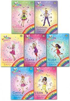 Rainbow Magic Series 19 Sweet Fairies Collection Set Pack, Books 127-133 by Daisy Meadows  #RainbowMagic #Fairies #Fairy #Magic #SweetFairy #FairyTale  #Book #ChildrensBook   http://www.snazal.com/rainbow-magic-series-19-sweet-fairies-collection-set-pack-bo--DEALMAN-U5-RmSweet-7bks(127-133).html
