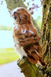Thinking of needle felting an owl and need some ideas on where to start? Not sure how to make a feather effect from wool? This has been one of my most challenging project so far, but also extremel...