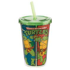 Teenage Mutant Ninja Turtles 12 oz Acrylic Travel Cup