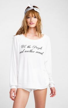 Wildfox Couture We The People Kim's Sweater