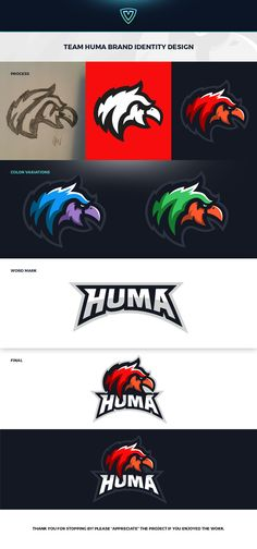 Huma.GG - Griffin Mascot Logo Design on Behance