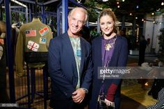 Andrea Bucalossi and Olivia Palermo pose at the MrMrs Italy Presentation during Milan Fashion Week Spring/Summer 2018 on September 22 2017 in Milan...