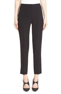 Armani Collezioni Slim Cady Ankle Pants $197.98  # #style #DesigerClothing