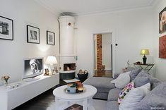 Слишком красивая и уютная скандинавская квартира, Гетерборг |