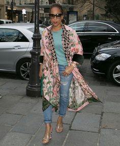 Marjorie Harvey Boho Fashion, Fashion Outfits, Womens Fashion, High Fashion, Fashion Ideas, Majorie Harvey, Love Couture, Mature Fashion, Advanced Style